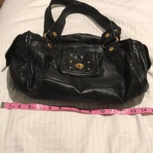 Marc By Marc Jacobs Bags - Marc by Marc Jacobs Black Leather Satchel Handbag